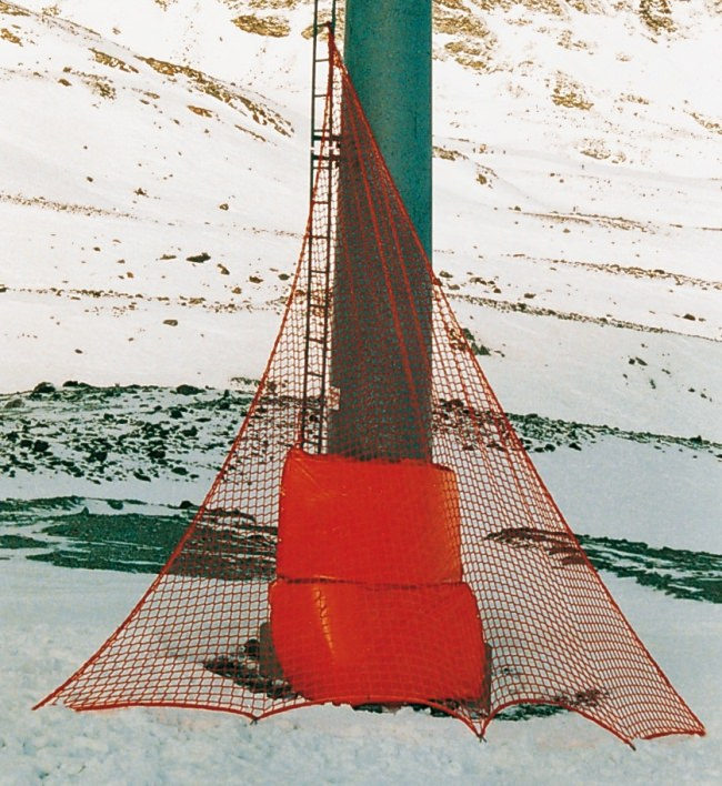 Triangular Ski Slope Net, 2.50 m wide | Safetynet365