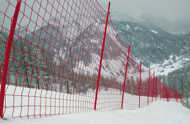 Ski Piste Safety Net S2 by the m² (Custom-Made) | Safetynet365