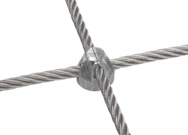 Stahldrahtnetz mit 8,0 mm Materialstärke | schutznetze24.de