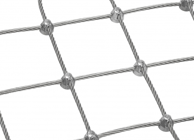 Steel Wire Net by the m² (6.0 mm/125 mm) | safetynet365.com