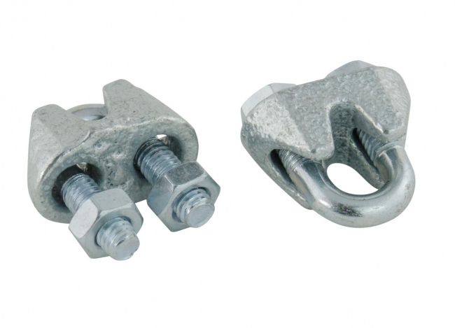 Steel Cable Clips 3 mm (50 pcs.) | Safetynet365