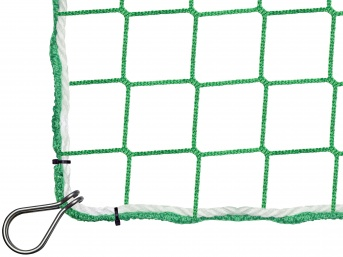 Fall Safety Net 5.00 x 10.00 m with Thimble Hooks
