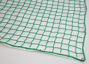 Fall Safety Net with Airtight Tarpaulin 8.00 x 10.00 m