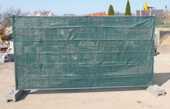 Hoarding Screen 1.80 x 3.45 m