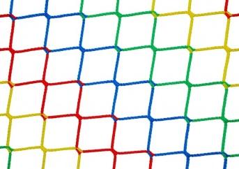 Netz per m² (nach Maß), bunt