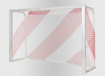 Hallenfußball-Tornetz per m² (nach Maß), bunt