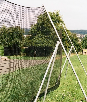 Tripod Support Frame for Anti-Litter Nets