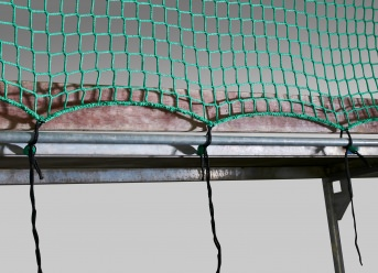 Guardrail Net 1.50 x 10.00 m with Isilink Clips