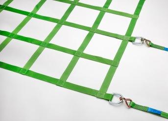 Gurtbandnetz für LKW 3050 x 6050 mm - Komplettset