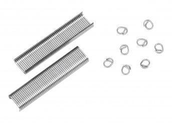 Ringklammern Ø 8 mm (1000 Stück)