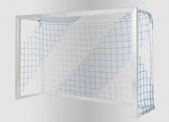Fußballtornetz per m² (nach Maß), zweifarbig