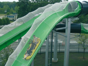 Waterslide Safety Net by the m² (Custom-Made)