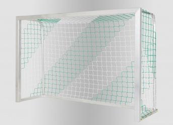 Hallenfußball-Tornetz per m² (nach Maß), zweifarbig