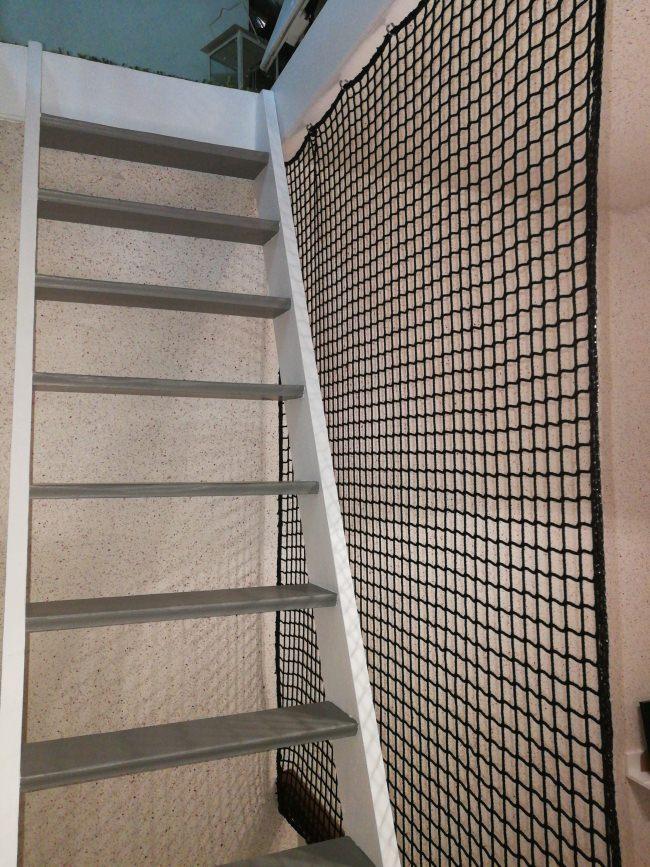 kindergarten schutznetz per m nach ma schwarz schutznetze24. Black Bedroom Furniture Sets. Home Design Ideas