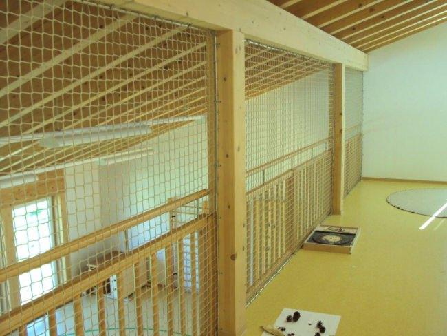 Etagenbett Wohnwagen Netz : Hochbett schutznetz per m² nach maß schutznetze